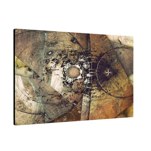 Enigma Abstrakt 440 Painting Print on Canvas