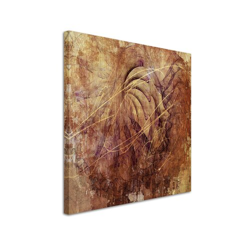 Enigma Abstrakt 1133 Painting Print on Canvas