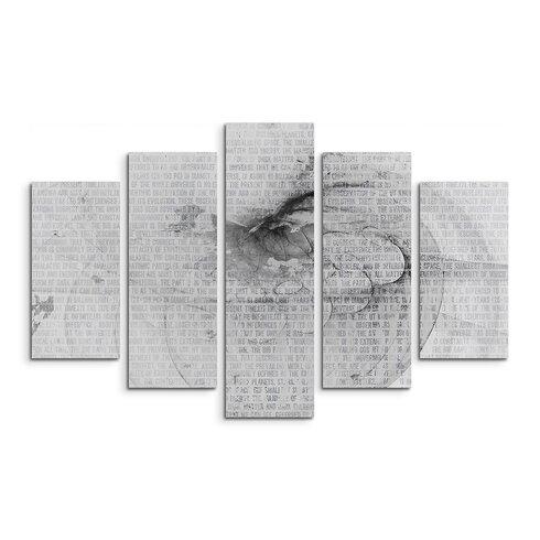 Enigma Skulptur Abstrakt 1225 Painting Print on Canvas Set