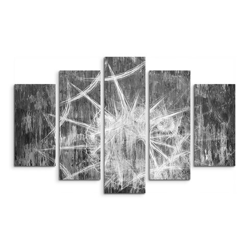 Enigma Skulptur Abstrakt 1288 Painting Print on Canvas Set