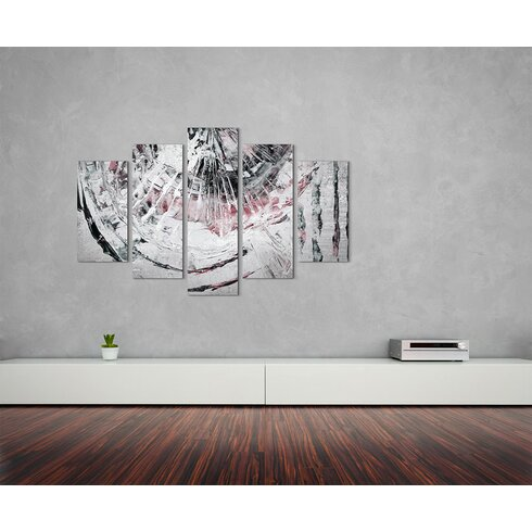 Enigma Abstrakt 895 Painting Print on Canvas Set