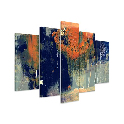 Enigma Abstrakt 989 Painting Print on Canvas