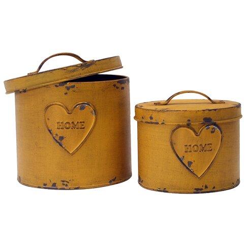 2-Piece Storage Box Set