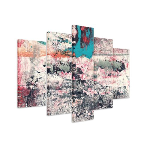 Abstract 875 Enigma 5-Piece Graphic Print