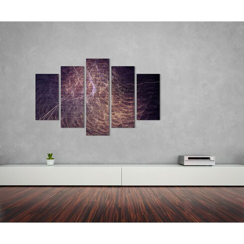 Enigma Skulptur Abstrakt 1136 Painting Print on Canvas Set