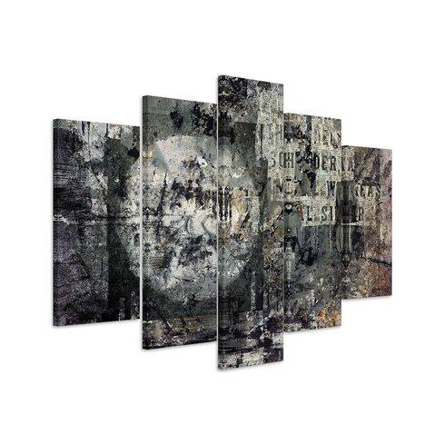 Enigma Abstrakt 922 Painting Print on Canvas Set