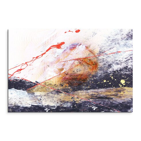 Enigma Abstrakt 1373 Painting Print on Canvas