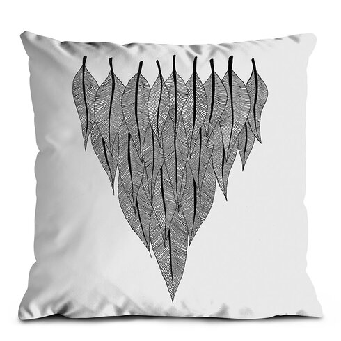 Feather Shield Scatter Cushion