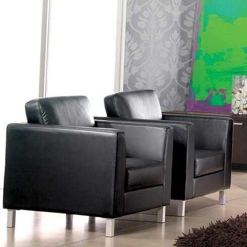 Lincoln Leather Lounge Chair