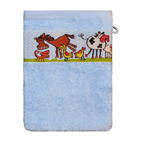 Horse 4 Piece Bath Towel Set