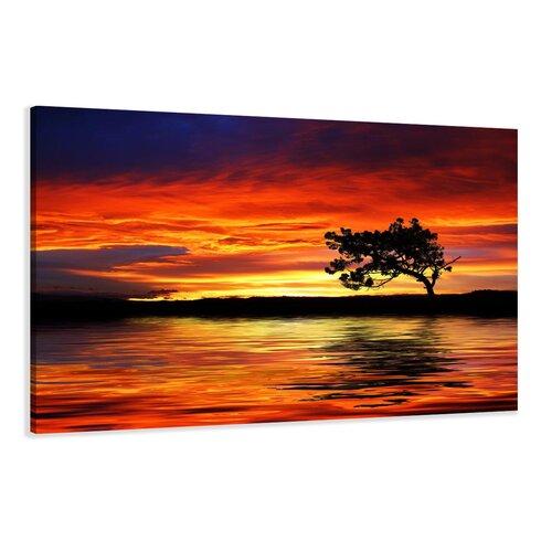 Sun Photographic Print on Canvas