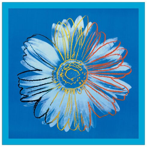 """""""Daisy, C.1982"""" by Warhol Graphic Art Plaque"""