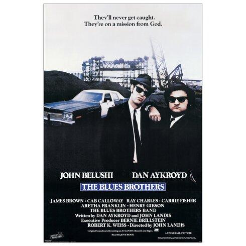 Blues Brothers Vintage Advertisement Plaque
