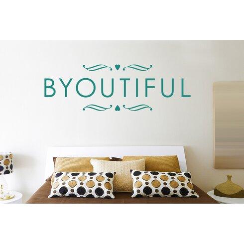 Byoutiful Wall Sticker
