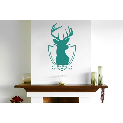 Deer Diary Wall Sticker