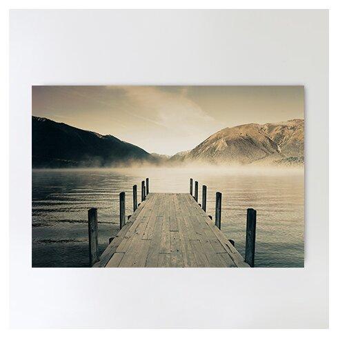 'Lake Rotoiti' by Jetty Photographic Print Plaque