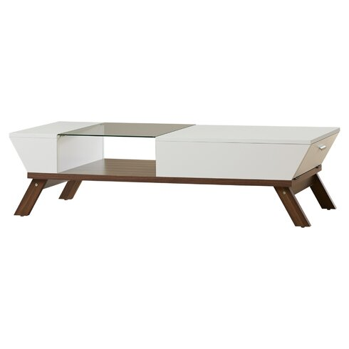 QUICK VIEW. Coffee Table - Modern Glass Coffee Tables AllModern