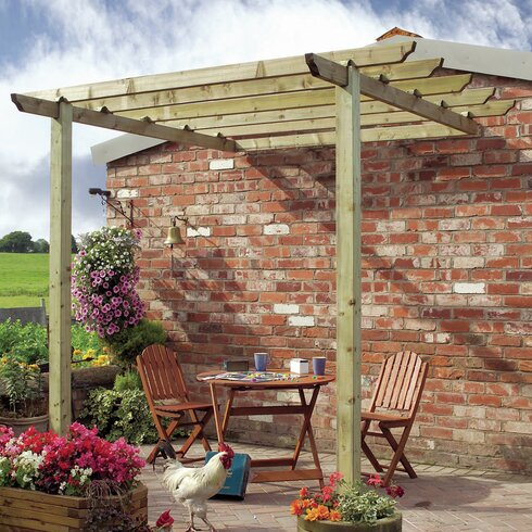 Traditional Patio Pergola