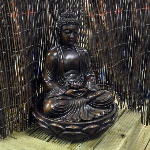 Buddha Resin Water Fountain
