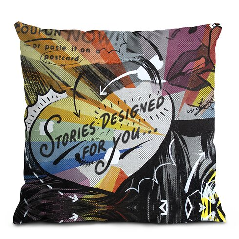 Coupon Stories Scatter Cushion