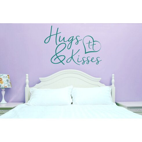 Hugs And Kisses Wall Sticker