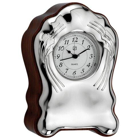 Timber Table Clock