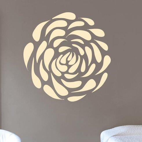 Flower Petal Pattern Wall Sticker