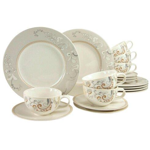 Palacio 18 Piece Dinnerware Set, Service for 6