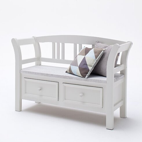 Opia Wood Storage Hallway Bench