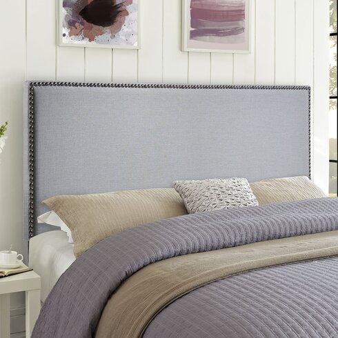 zipcode design angelique upholstered panel headboard  reviews, Headboard designs