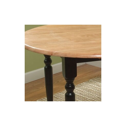 Andover Mills Belle Haven Double Drop Leaf Dining Table & Reviews ...