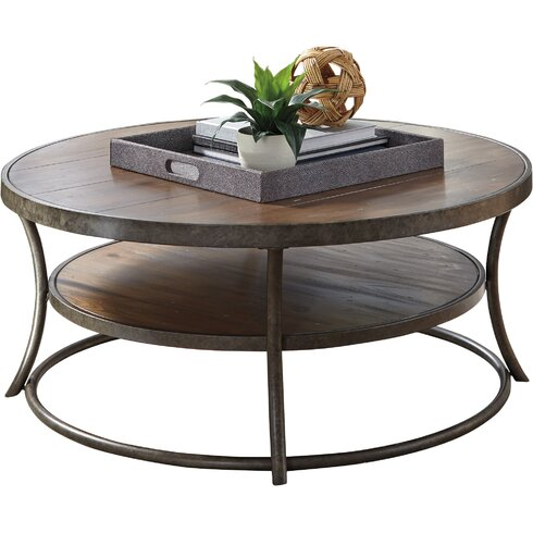 QUICK VIEW. Bendeleben Coffee Table - Round Coffee Tables You'll Love Wayfair