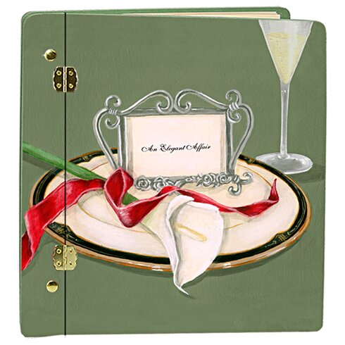 Wedding Table 4 Two Lilly Book Photo Album