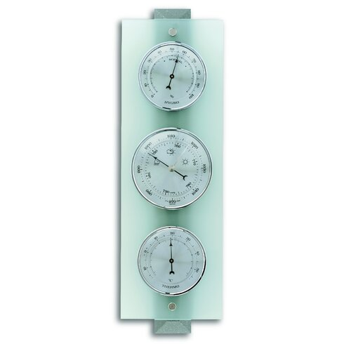 Modern Column Glass Barometer
