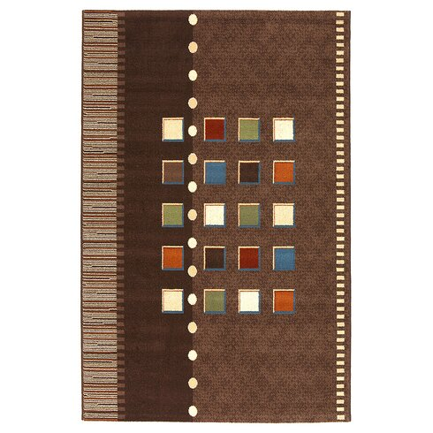 Coimbra Brown Area Rug