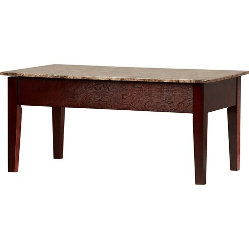 Thorndike Coffee Table with Lift Top - Marble/Granite-Top Coffee Tables You'll Love Wayfair