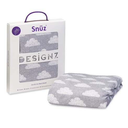 Snuz Cloud Nine 100% Cotton Cot and Cot Bed Fitted Sheet