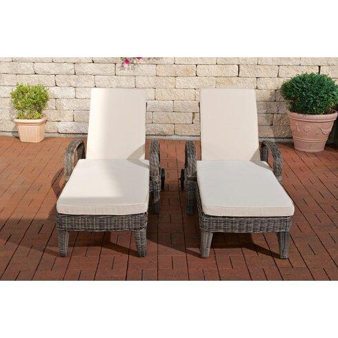 Lalchandani Sun Loungers with Cushions