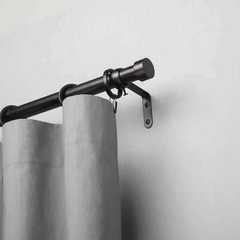 Cappa Single Curtain Rod Amp Reviews Allmodern