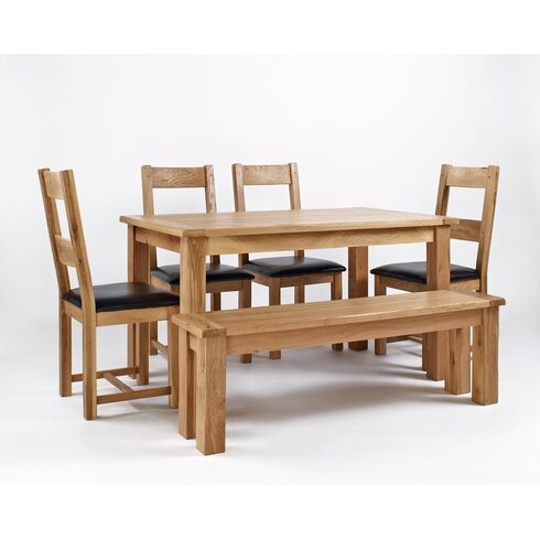 Walmer Wood Dining Bench