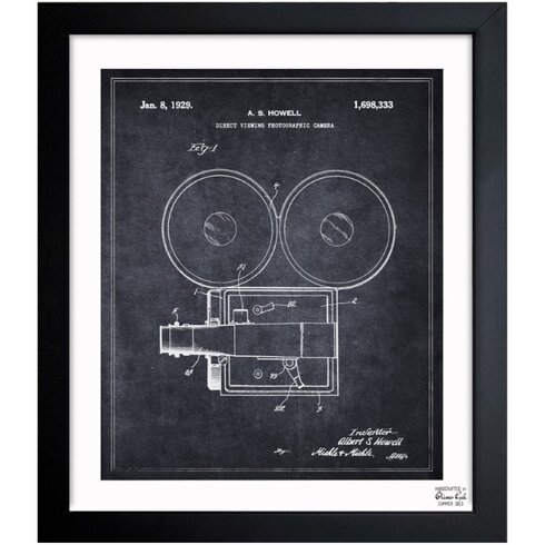 Lake Forest 'Direct Viewing Photographic Camera 1929' Framed Graphic Art