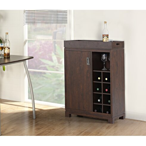 Standard Furniture Charleston Buffet Hutch With Wine Storage