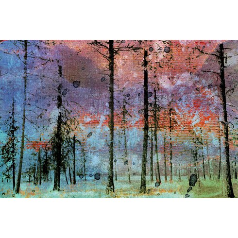 Lost in the Forest Art Print on Canvas