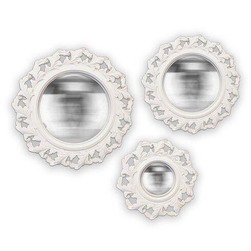 3 Piece Twist Convex Mirror Set
