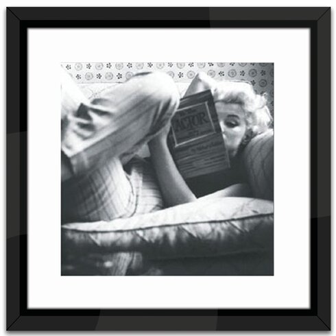 Marilyn Monroe Relaxing Framed Photographic Print