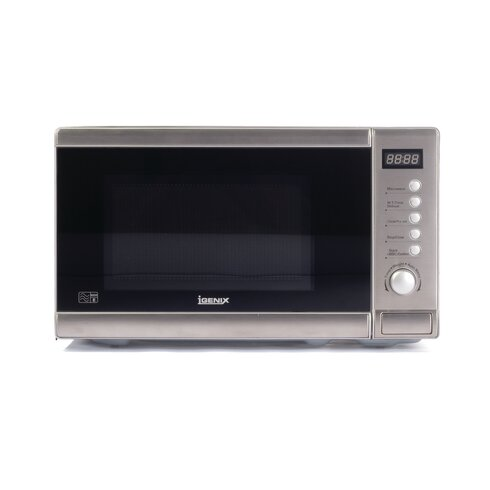 20L Countertop Digital Solo Microwave in Stainless Steel
