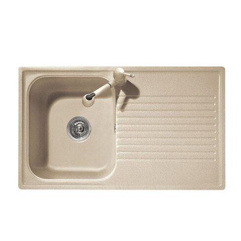 Futura 86cm x 50cm Kitchen Sink