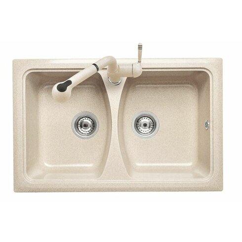 Domino 79cm x 50cm Kitchen Sink