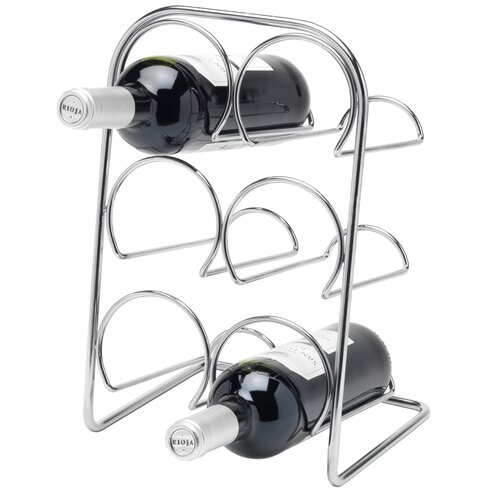 Pisa 6 Bottle Tabletop Wine Rack
