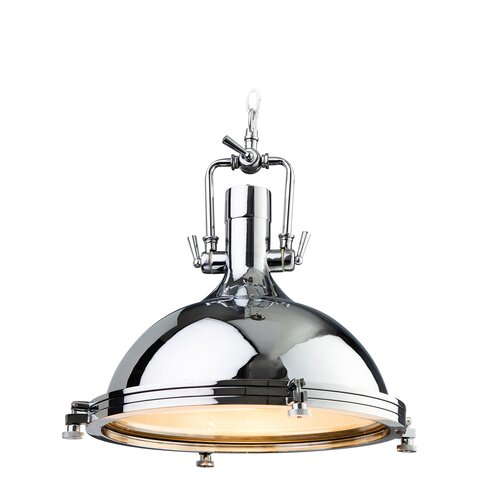 Bailey Island 1 Light Bowl Pendant